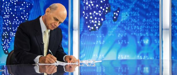 """""""O Jornalismo Político é um saco"""", diz Boechat"""